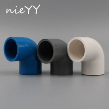 1pc PVC NIEYY 40mm Elbow Connector Water Supply Pipe 90 Degree Joint Tube Adapter Garden Irrigation Accessories