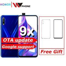 Honor 9x 9x pro Smart Phone Kirin 810 Octa Core 6.59 inch Lifting Full Screen 48MP Dual Cameras 4000