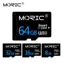 TF tarjeta Micro SD 64GB 128GB 256GB de alta velocidad Class10 8GB 16GB 32GB de memoria Flash sd memoria con adaptador(China)