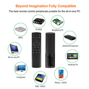 Image 4 - G20Sเสียงรีโมทคอนโทรล 2.4GHZ Wireless MINIคีย์บอร์ดG20 Fly Airเมาส์ไมโครโฟนGyroสำหรับAndroid TVกล่องH96 MAX X2 X96 MINI