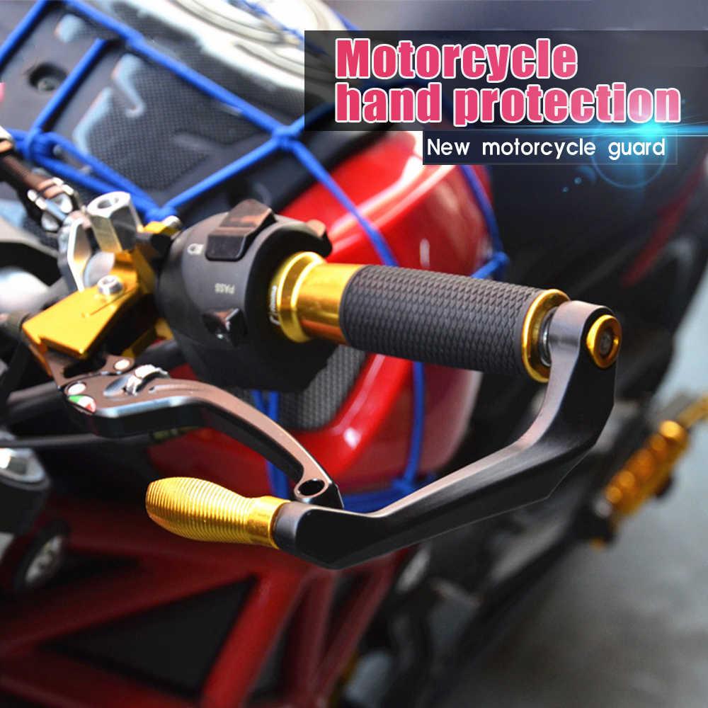 Z106 Motor 22 Mm Handguard Skuter Hand Guard ATV Pelindung untuk Guidao Motocross CF500 Multistrada 1260 Dl250 Pit Sepeda Vespa