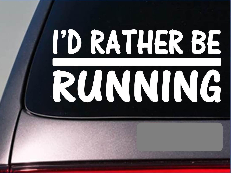 MALE 5K RUNNER Marathon Vinyl Decal Sticker D