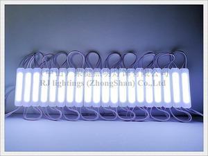Image 5 - Módulo de luz LED de inyección COB con lente de sellado ultrasónico DC12V 2,4 W 240lm 75mm X 16mm * 8mm IP65 calidad estupenda 3 años de garantía