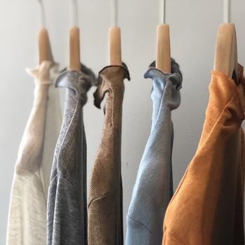 Camiseta de cuello alto de manga larga para mujer, novedad de otoño 2020, estilo coreano, volante de Color sólido, parte superior inferior