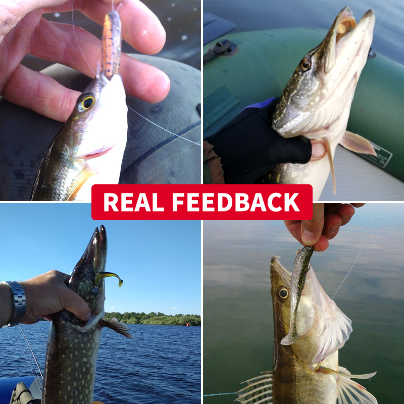 Meredith Easy Shiner Fishing Lures 50mm 75mm 100mm 130mm Wobblers Carp Fishing Soft Lures Silicone Artificial