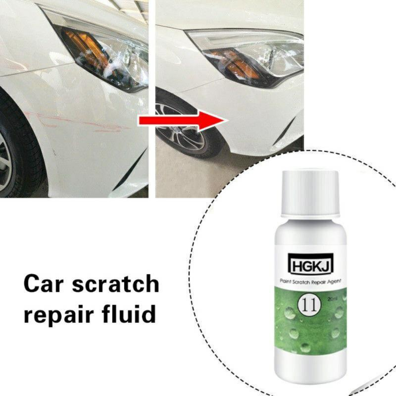 HGKJ-11-20ml Car Scratch Remover Repair Liquid Ceramic Polishing Hydrophobic Coating Skin Repair Agent Polish Paint Care Auto