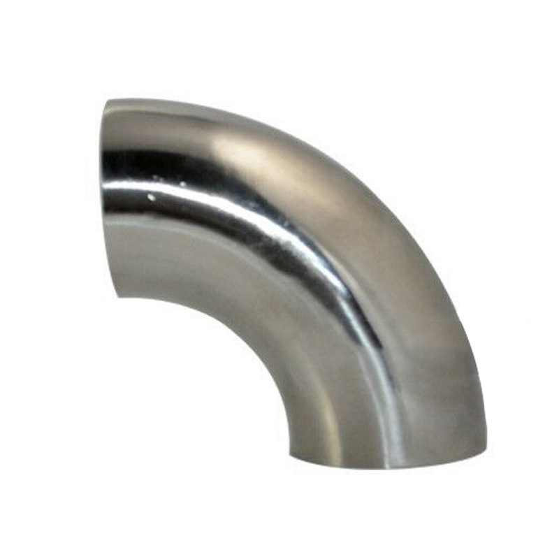 1.5 31mm OD Stainless Steel 90 Degree Exhaust Weld Bend Elbow Pipe Fitting