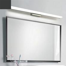 Modern Led Vanity Lights Bedroom Bathroom Toilet Mirror Cabi