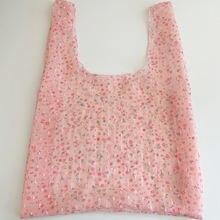 Экологичная сумка для покупок с цветочным принтом Многоразовая
