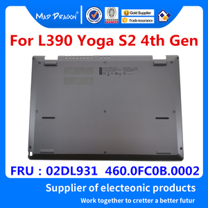 laptop Silver Panel Door Cover Bottom Base Bottom Cover for Lenovo ThinkPad L390 Yoga S2 4th Gen, and S2 Yoga 4th Gen 02DL931