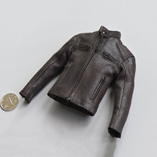 In Stock 1/6 Scale Male Fgure Accessory Retro Style Motorcycle Leather Jacket Clothes Coat Model for 12'' Action Figure Body