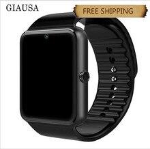 GT08 Smart Watch With Camera SIM TF Card  For Apple Watch Men Women Android Wristwatch Smart Electronics Smartwatch PK Y1 V8 Q1 smart watch gt08 black