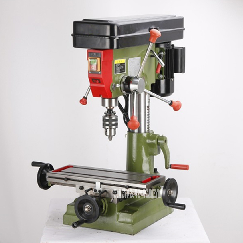 ZX7016 Drilling And Milling Machine Multifunctional Home Woodworking DIY Bench Drill / Table Milling Machine 220V/380V 550W MT2|Electric Drills| - AliExpress