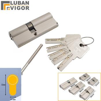 Vari formati di nuclei di cilindro della serratura della porta, 5 tasti, altezza 32MM, interno ed esterno doppio di sblocco, porta di Sicurezza porta interna