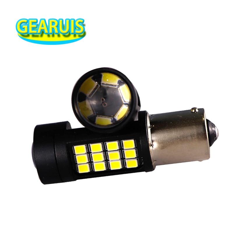 1157 BAY15D P21W 156 BA15S Lámpara Luz Reversa Coche LED Bombillas De Luz Camión Señal