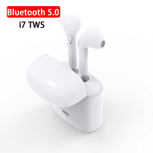 Bluetooth 5.0 Earphone i7 s TWS True Wireless Earbuds for Apple iphone 7 8 XR XS Max Samsung Xiaomi Huawei Charging Dock Headset(China)