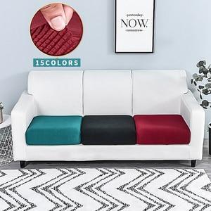 Meijuner Corn Velvet Sofa Cover Nordic Simple Solid Combination Sofa Cushion Cover All-inclusive Elastic Protector Seat Cover