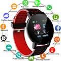 2020 119Plus Bluetooth Smart Watch Men Blood Pressure Smartwatch Women Watch Sport Tracker WhatsApp For Android Ios