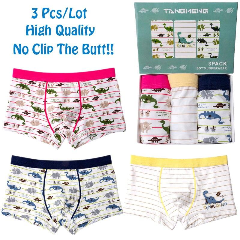 3Pcs/Lot Baby Panties Cotton Kids Underwear Boys Boxers For Boy Briefs Children Cartoon Majtki Boxer Toddler Shorts Underpants