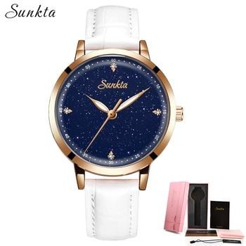 LIGE Womens Watches Top Brand Luxury Waterproof Watch Fashion Ladies Stainless Steel Ultra-Thin Casual Wristwatch Quartz Clock 14