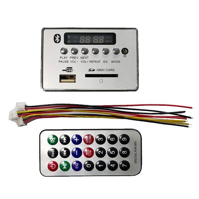 Top 5.0 Bluetooth Audio Receiver Ape Mp3 Wav Wma Decoder Board Dac Car Audio Module Usb Tf Radio For Amplifier Remote Control