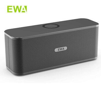 EWA W300 Bluetooth динамик s 2*6 Вт драйверы громкий стерео звук 4000 мАч аккумулятор беспроводной портативный динамик для путешествий на открытом возд...