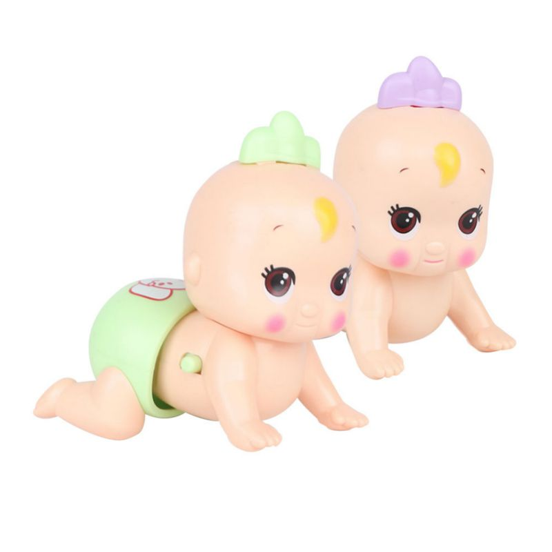 1Pc Early Education Electric Baby Doll Toy Singing Walk And Wriggle Buttocks Electric Climbing Toy 0-3T New