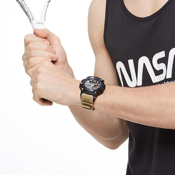 Share To Xiaomi 50ATM Waterproof Electronics Display Watch Time Display Calendar Countdown Outdoor Sport Digital Watch 4