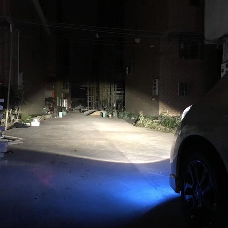 Phare de voiture Super lumineux ampoule halogène 1 pièces H3 12V 6000K clair antibrouillard 3000Lm 100W xénon bleu foncé lampe de conduite