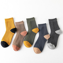 5pairs Fashion Cotton Socks Men Long Crew Socks Man Business Casual Happy Socks Autumn Winter Calcetines Hombre High Quality 5pairs fashion cotton socks men long crew socks man business casual happy socks autumn winter calcetines hombre high quality