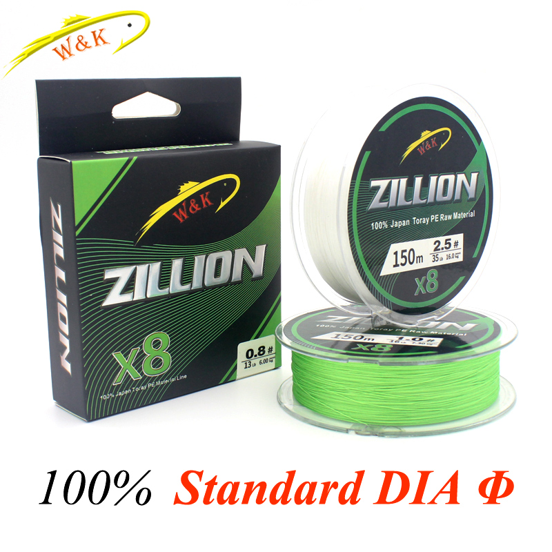 Hot-Sale 150m Fishing Line at 8 Braided PE Line Floating Braid Lines 135yd Braided Fishing PE Lines