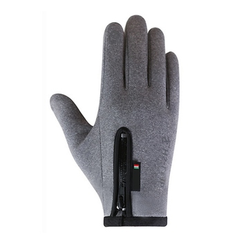 Winter Motorcycle Gloves Cycling Riding Glove Skiiing Gloves Touch Screen Zipper Windstopper Thermal Fleece Full Finger Gloves image