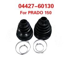 1set  cv joint boot Kit dustproof cover 04427 60130 For Toyota Land Cruiser Prado FJ Cruiser 4Runner Lexus GX460 GX400
