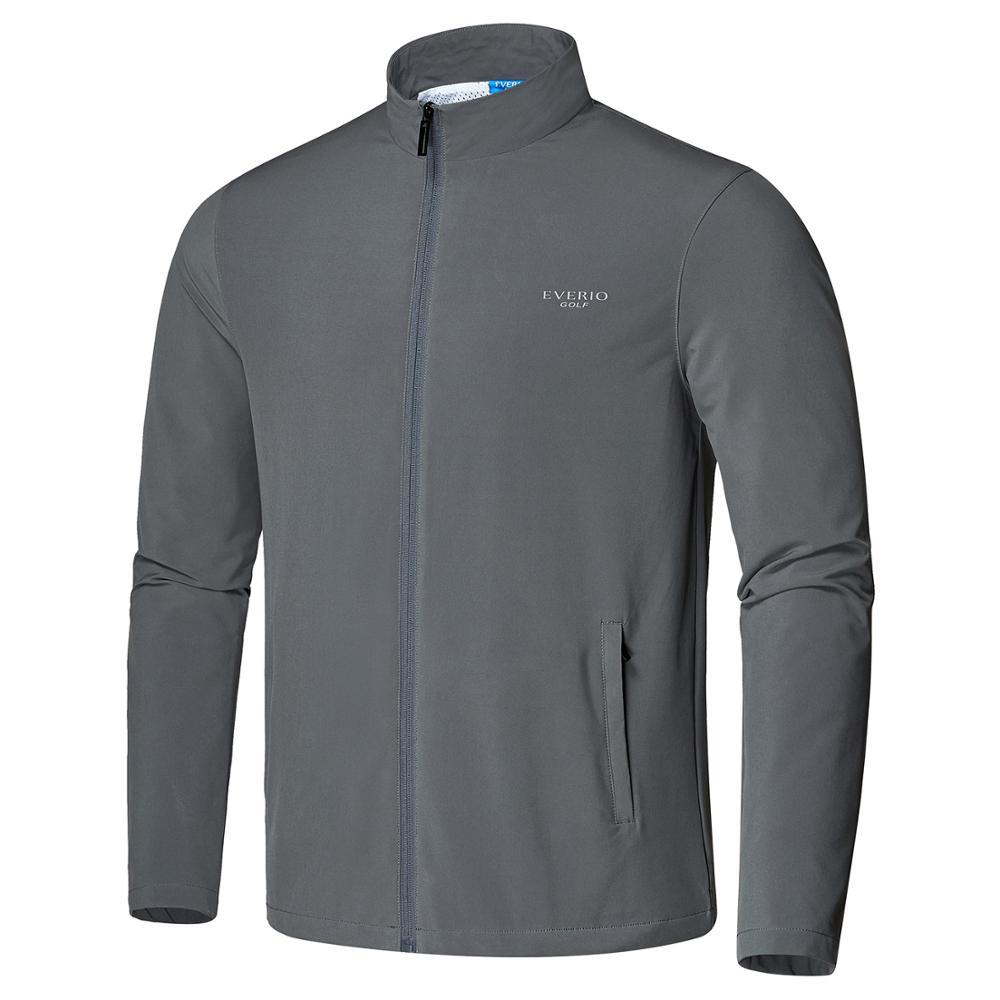 Outono e Inverno Roupas de Golfe Jaqueta de Golfe Esportes ao ar Completo à Prova Blusão Masculino Livre Zíper Vento Quente Cabolsa Topo S-2xl 2020