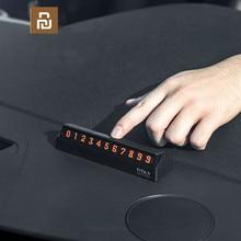 Youpin bcase ティタ × 共有に bcase フリップタイプ車 temperary 駐車電話番号カードプレートミニ車の装飾