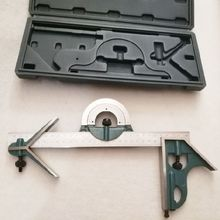 Combination Square Set Angle Ruler Universal Bevel 180 Degree Measuring Tool lixf combination square set angle finder