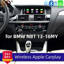Sinairyu WIFI ワイヤレス Apple Carplay BMW NBT X5 X6 F15 F16 F25 F26 2013-2016 サポート iOS/ android の自動/ミラー Live365 の Waze(China)