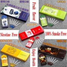Лидер продаж, палочки для чая, фруктов, смешанный вкус, для мужчин и женщин, здоровые сигареты, не содержат никотина, без табака
