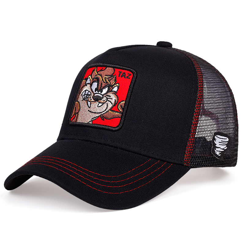 2020 New Patch Embroidery Baseball Cap Fashion Outdoor Breathable Mesh Caps Summer Shade Sunscreen Hat Wild Trucker Hats