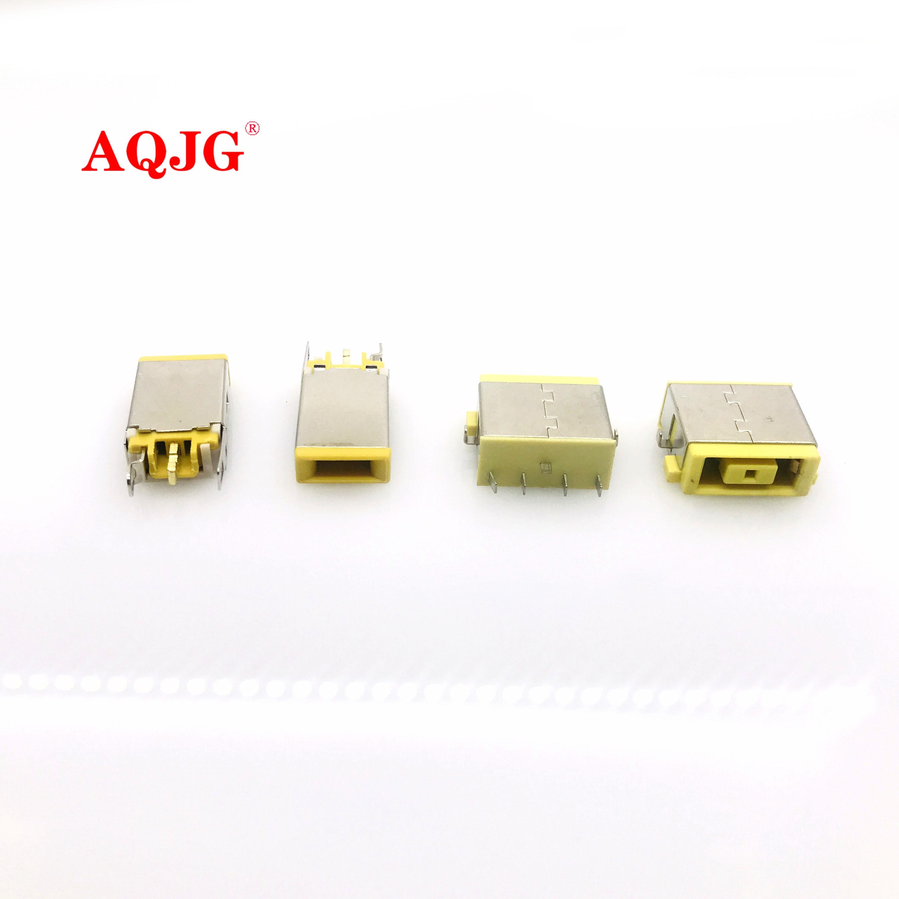 Original New DC Jack FOR IBM Lenovo YOGA 11 11S 13 X1 Carbon Square Head Power Plug Connector Socket Charging Port