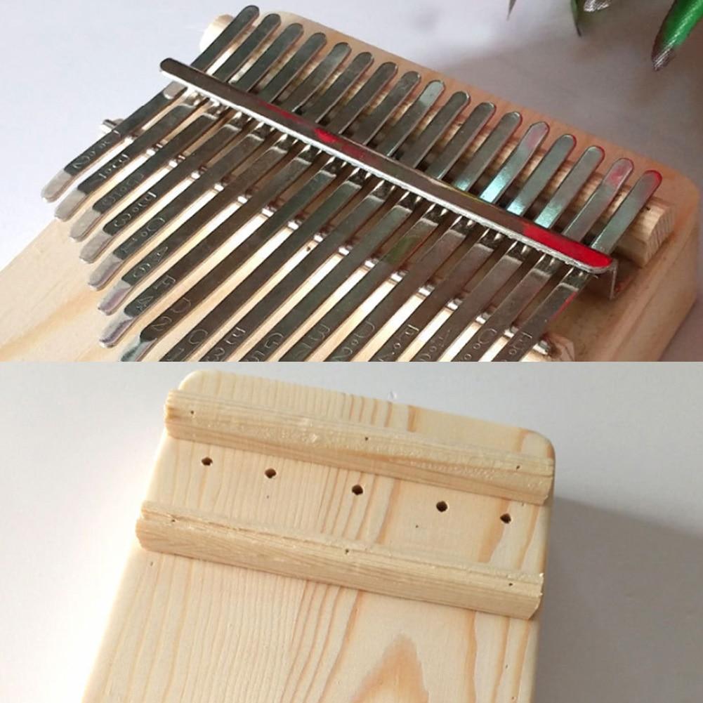 Simple Assembly 17 Keys Kalimba Handwork DIY Kit Wood Finger Thumb Piano 10-key Kalimba For Children Kids Keyboard Instrument