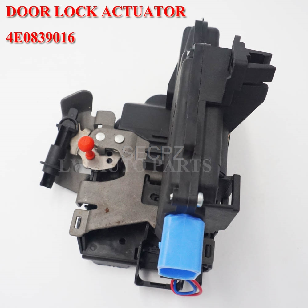 BRAND NEW FOR <font><b>AUDI</b></font> A3 8P1 <font><b>A8</b></font> <font><b>4E</b></font> <font><b>D3</b></font> DOOR LOCK MECHANISM REAR RIGHT 4E0839016 4E0839016A image
