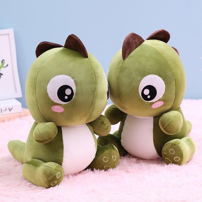 28-56cm Cartoon Cute Dinosaur Plush Toys Stuffed Lovely Animals Dolls Soft Baby Sleep Pillow for Kids Girls Birthday Xmas Gifts