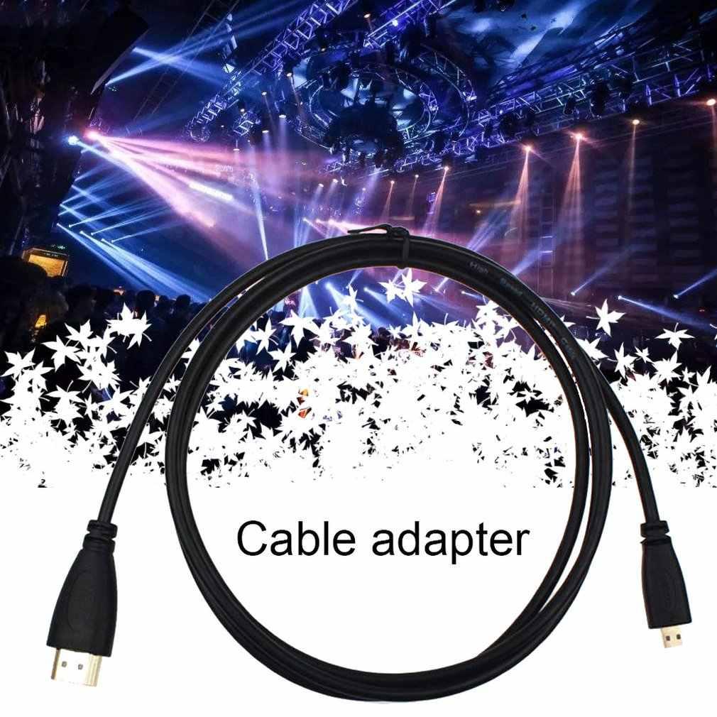 Prachtig Ontworpen Duurzaam 0.5M Micro-Type Hdmi Naar Hdmi Male Adapter Converter Kabel Voor Droid Htc 4G k1F1