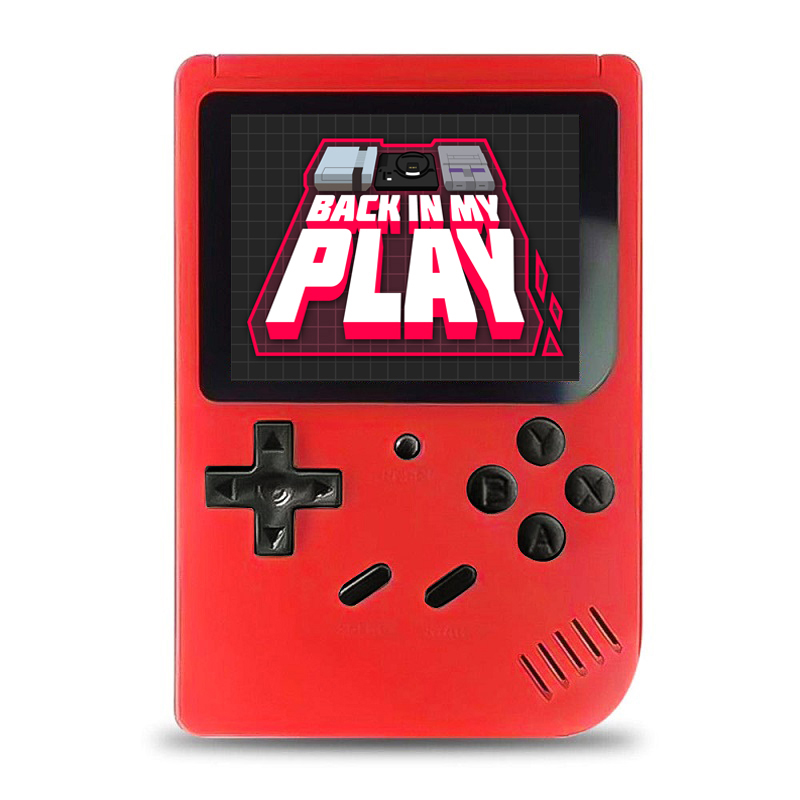 400 Games MINI Portable Retro Video Console Handheld Game Advance Players Boy 8 Bit Built-in Gameboy 3.0 Inch Color LCD Screen image