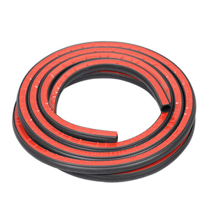 Image 3 - Car Door Rubber Seal EPDM rubber Weatherstrip Big D Type Waterproof Noise Sound Insulation auto seal Anti Dust Soundproof