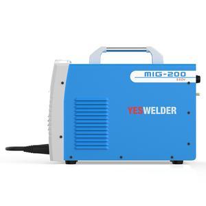 Image 4 - YESWELDER MIG200 200A ריתוך מכונה אין גז וגז MIG רתך עם אור משקל ברזל ריתוך מכונה שלב אחד 220V