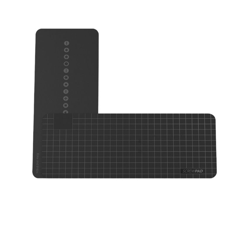 165*65 мм Магнитная винтовая прокладка ремонт мобильного телефона коврик Адсорбция винт инструменты коробка Замена