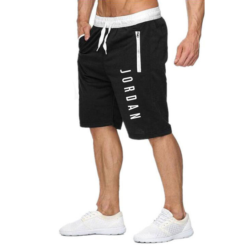 New Printed Shorts Men's Bodybuilding Shorts Men's Summer Gym Exercises Men's Breathable Quick-drying Joggers Casual Cotton Mid