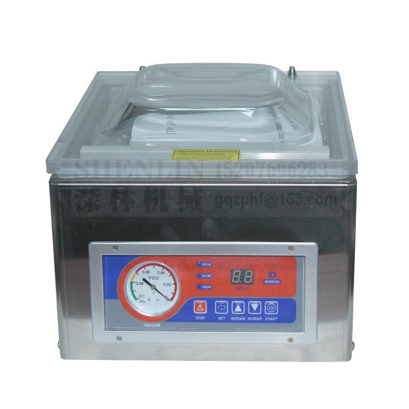SHENLIN DZ260C scellage sous vide table style emballage sous vide sac en plastique machine d'emballage en aluminium sac scellant sous vide 255mm 110/220 - 5